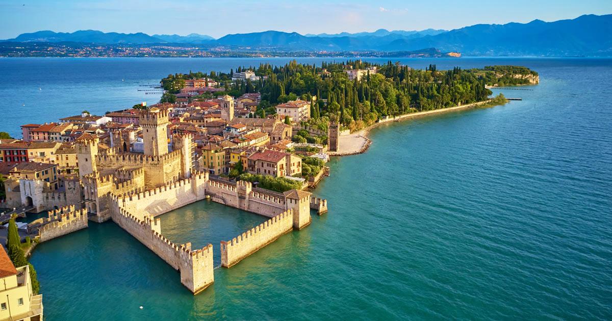 Taxi per il lago di Garda
